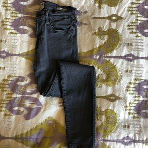 """Frame """"Le High"""" Skinny Jean in Washed Grey 28"""